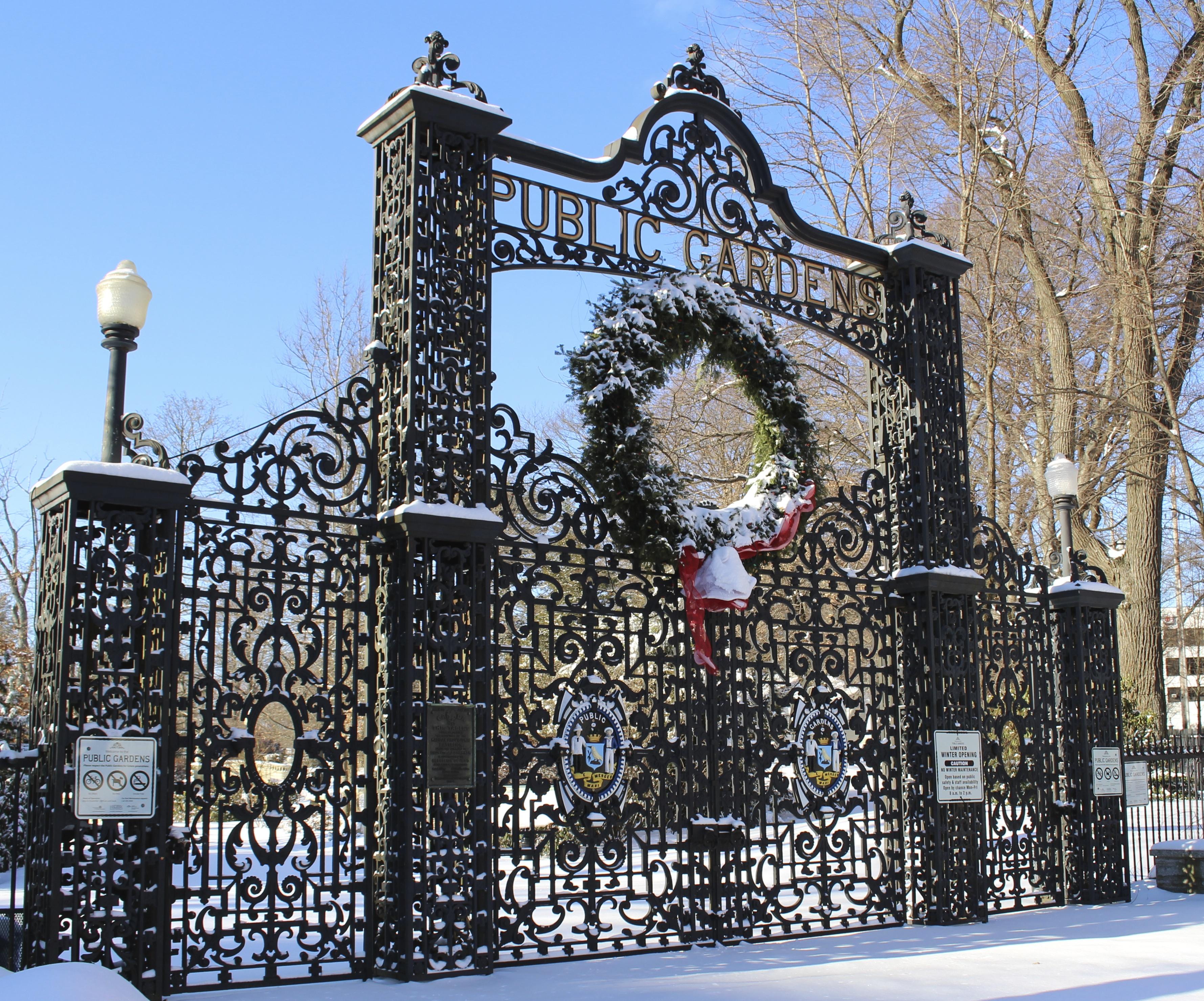 Halifax Public Gardens – Beyond the gardens path…